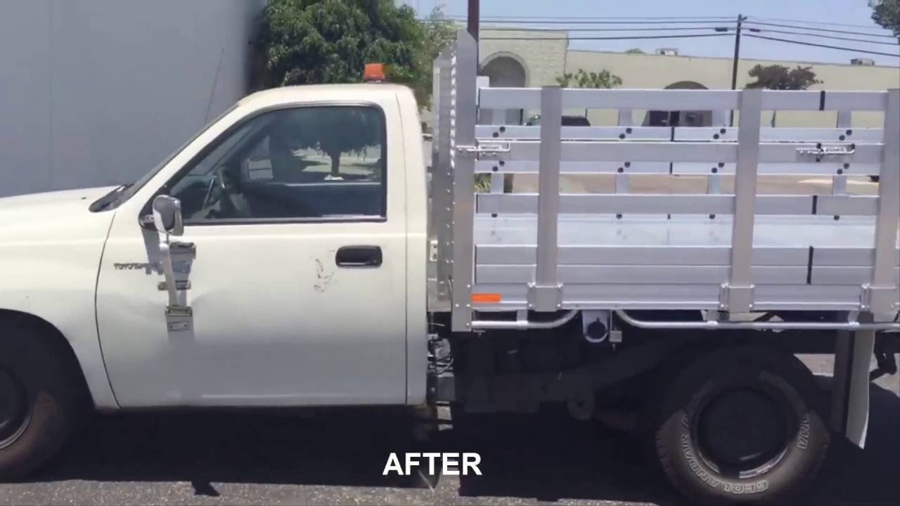 1997 Toyota T100 Aluminum Bed Before After Youtube