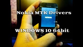 Nokia MTK Drivers Windows 10 64Bit Installation Guide