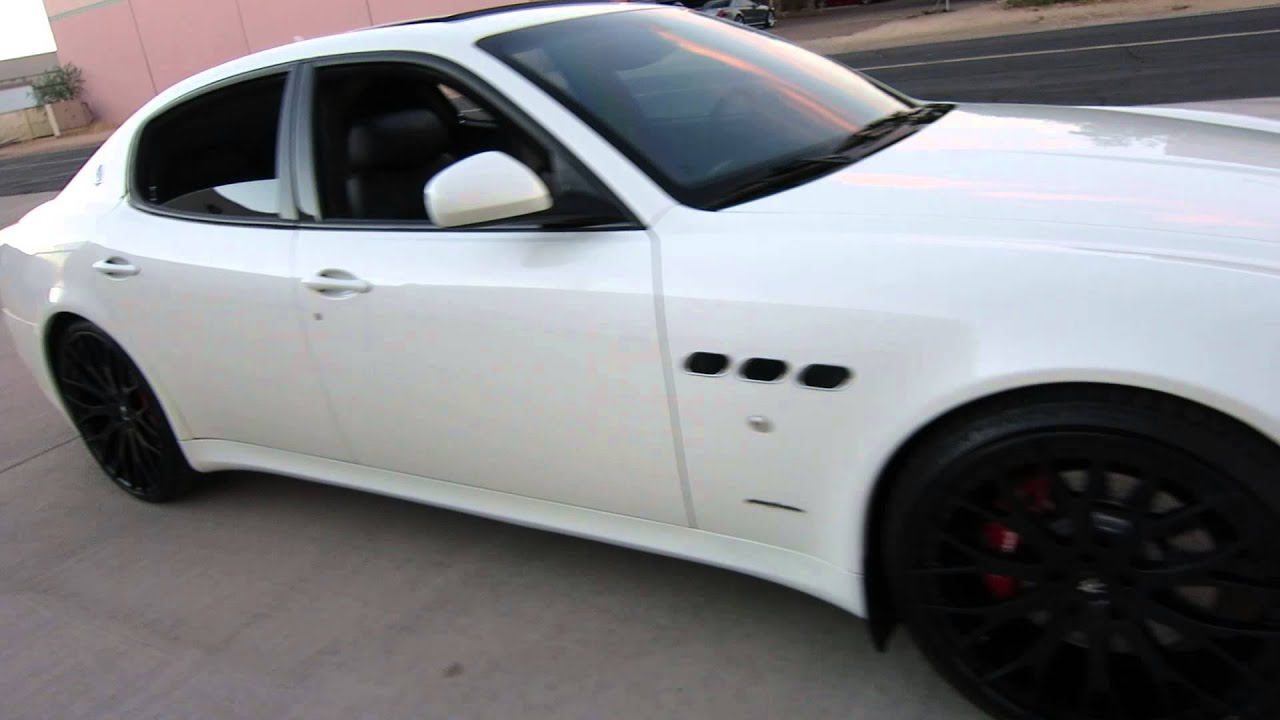 2012 Maserati Quattroporte GT S MC Sport Line 22inch Wheels for sale ... Maserati Quattroporte 2013 Interior