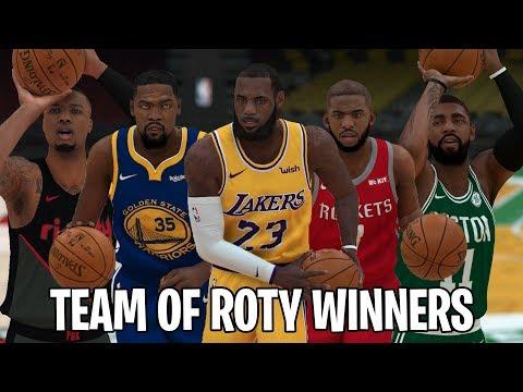 Repeat ZION WINS ROTY?!! END OF SEASON 2!! NBA 2K19 DALLAS