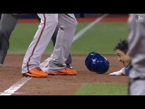 MLB Playback -Interesting Play Compilation 2017 Year End