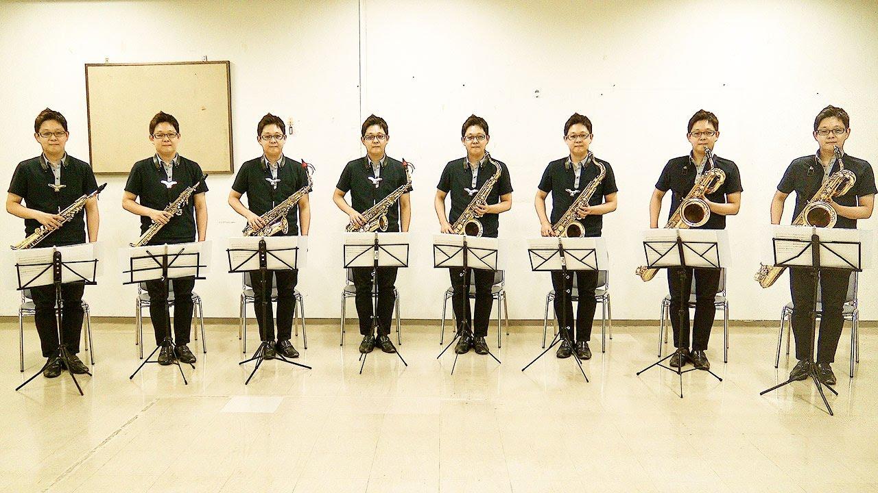 Asturias PV Yukihiro Maeda, Mi Bémol Saxophone Ensemble