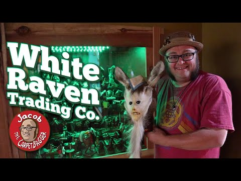White Raven Trading Co. - Curiosity Shoppe And Museum Of The Strange