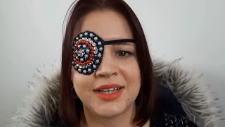 Mom Who Lost Eye to Rare Cancer Designs Jazzy Custom Eye Patches