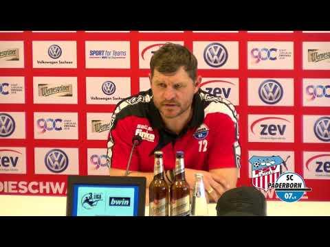 FSV-TV I Pressekonferenz: FSV Zwickau - SC Paderborn 07 (1:3)