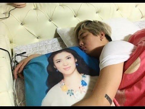 Lee Hong Ki throws away Song Hye Kyo body pillow - YouTube
