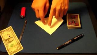 Magic Tricks Revealed: Money to Burn