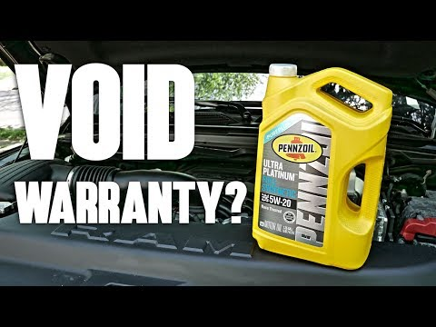 DIY Oil Change Voids Warranty?