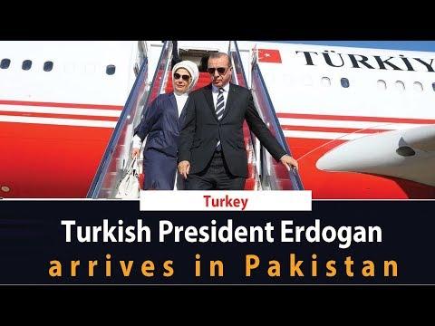 Breaking News | Turkish President Erdogan Arrives In Pakistan | SAMAA TV | 13 Feb 2020