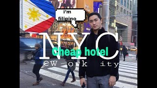 Cheapest Hotel in NYC, 1st TIME in New York