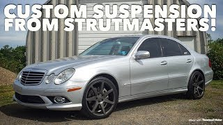 We Removed the Air Suspension from our Mercedes! *Update Video*
