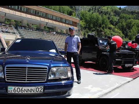 Волчек  W124 5.5 AMG Of Almaty