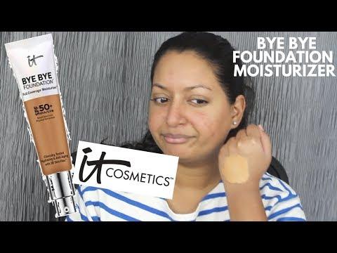 IT Cosmetics Bye Bye Foundation Full Coverage Moisturizer (1 Week Wear Test)