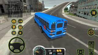 SCHOOL BUS DRIVING 2017- Lái xe buýt trường học - Android game play screenshot 4