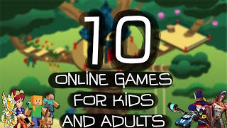 Top Ten Online Games For Kids And Adults 2016