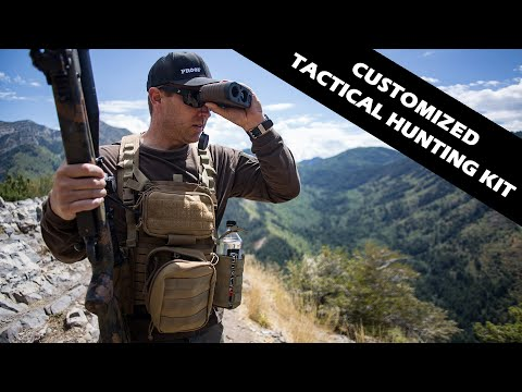Customizable Tactical Hunting Chest Rig By High Speed Gear