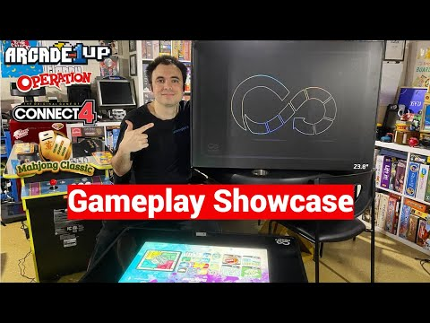 Infinity Game Table by Arcade1Up April Game Releases - Operation, Connect 4, Mahjong, Solitaire! from UrGamingTechie