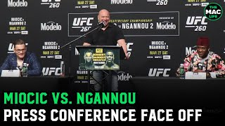 UFC 260: Stipe Miocic vs. Francis Ngannou | Pre-Fight Press Conference