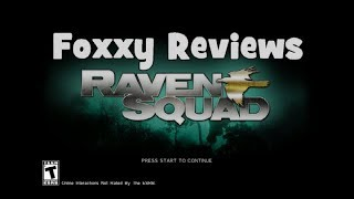 Foxxy Reviews: Raven Squad Operation Hidden Dagger