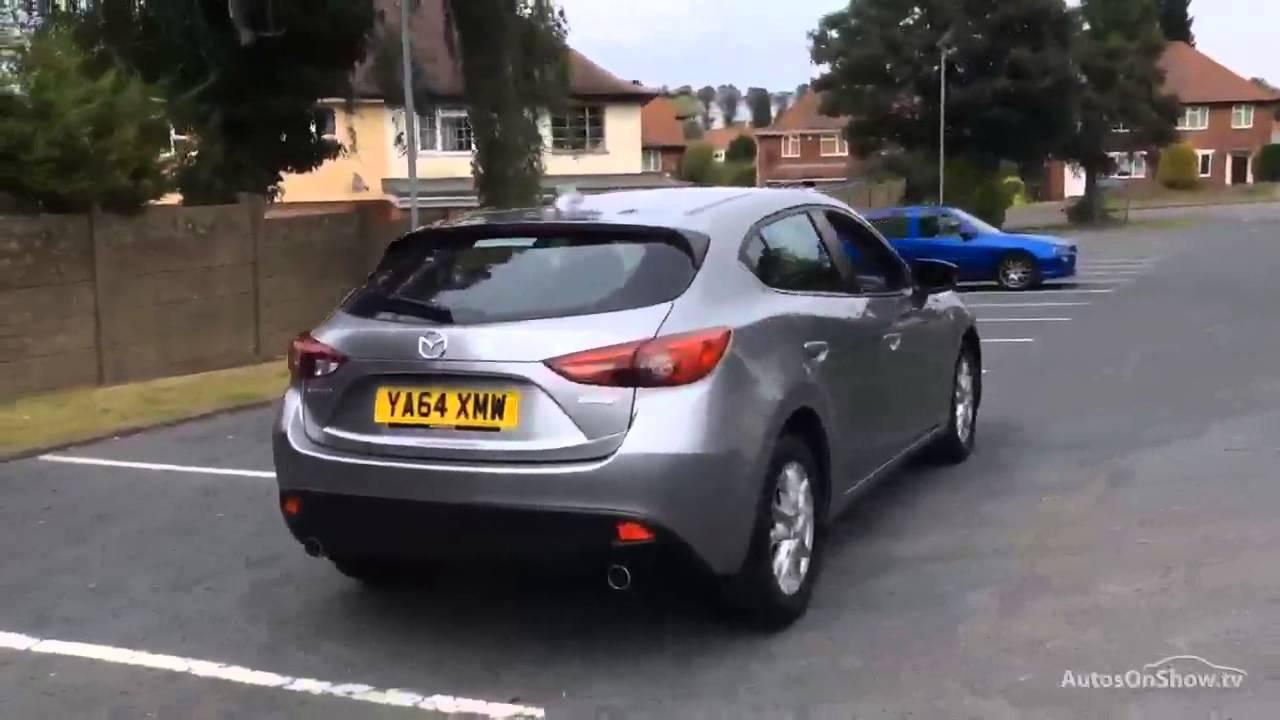 Mazda3 5 Door >> MAZDA 3 SE ALUMINIUM/SILVER 2015 - YouTube