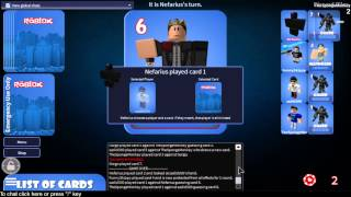 Roblox Let's Look at: Love Notes: a Card Game