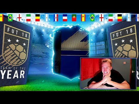 ABSOLUTELY MASSIVE FULL TOTY PACK OPENING!! FIFA 18