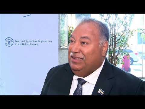 Remarks by Nauru's President on climate change and COP23