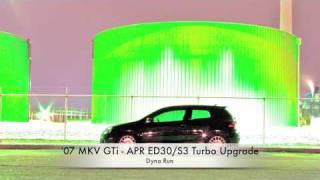 2007 MKV GTI APR ED30/S3 K04 Dyno