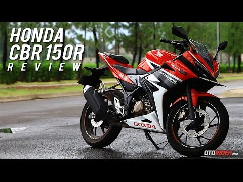 All New HONDA CBR150R 2016 Test Ride Review Indonesia | OtoRider