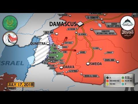 18 июля 2018. Военная обстановка в Сирии. В Россию вернулись 100 военнослужащих военной полиции.