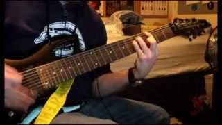 Deftones - Leathers guitar cover (8 string)