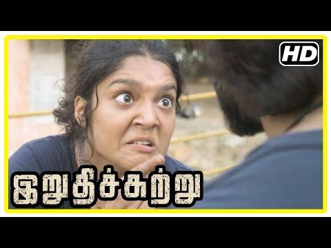 Irudhi Suttru Tamil Movie Scenes | Madhavan vs Ritika Singh | Nasser | Radha Ravi | Sudha Kongara