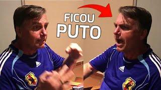 JAIR BOLSONARO DESCE O VERBO NA FOLHA DE SÃO PAULO SOBRE O SEU PATRIMÔNIO