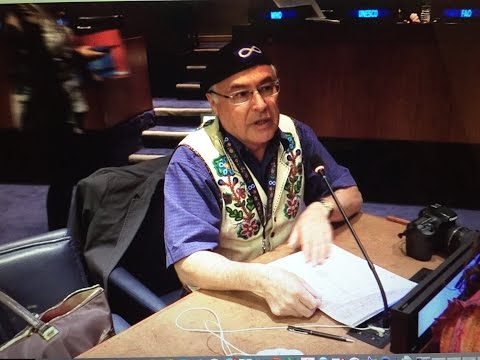 President Chartier Speaks At The UN Permanent Forum On Indigenous Issues