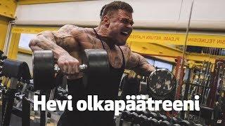 Artturi Kallio - Olkapäätreenit! - Penkkipunnerrus.fi