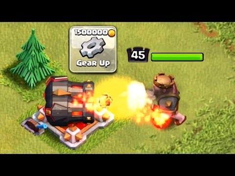 MAX GEARED UP CANNON VS MAX KING | Clash of Clans | Double Cannon Upgrade