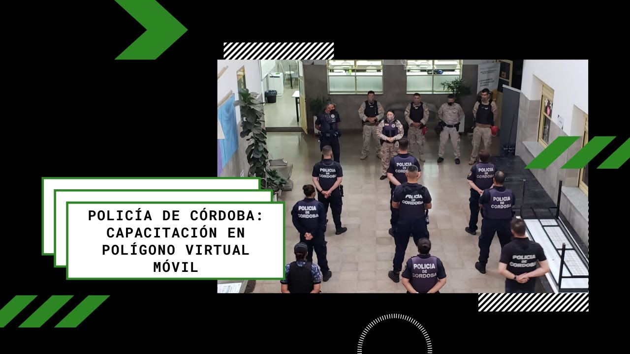 Jornada de Capacitación en Polígono Virtual | Policía de Córdoba