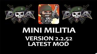 Doodle Army 2 Mini Militia V 2.2.52 Mod