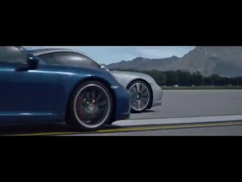 "The new Porsche 911. TV Commercial – ""Compete"""