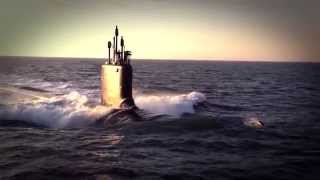 USS Minnesota SSN 783 Nuclear Submarine First Sea Trials - Newport News Shipbuilding