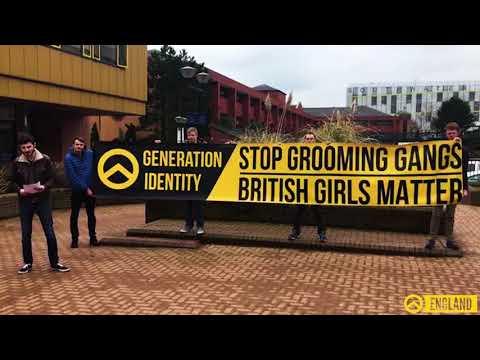 Generation Identity England - Speech in Telford