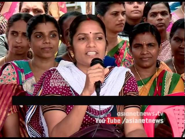 Anjarakandy Pvt Medical college employees strike demand to Increase Salary and bonus