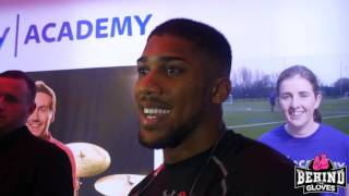 JOSHUA SAYS HE HASN'T UNDERESTIMATED BREAZEALE, GIVES HIS OPINION ON BREXIT!