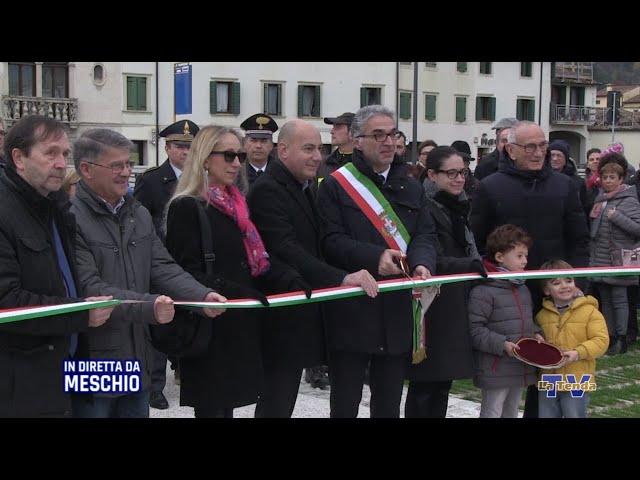 Inaugurazione Piazza Meschio e S. Messa