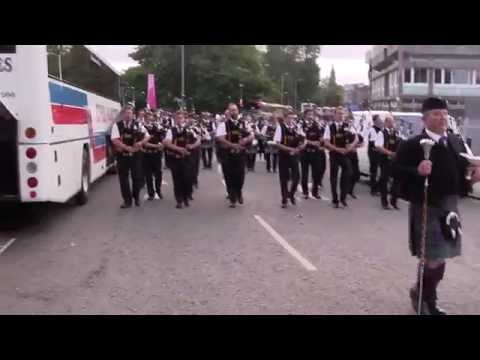 World pipe band championship 2014