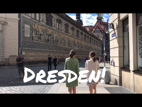 WELCOME to DRESDEN - TOP THINGS TO SEE and EAT - vlog