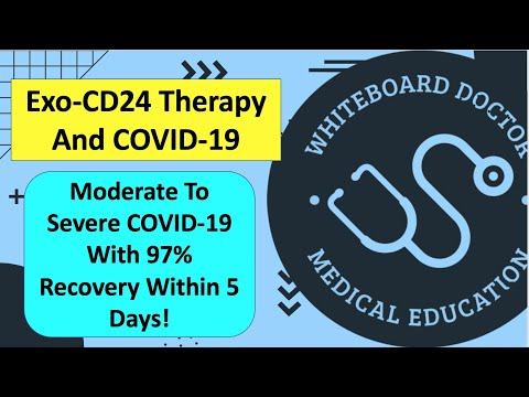 97% Recovery In 5 Days For Severe COVID-19! Inhaled Exo-CD24: What Is It And How Might It Work?