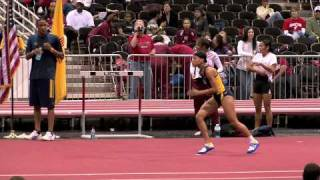 Inika McPherson High Jumping in New Mexico