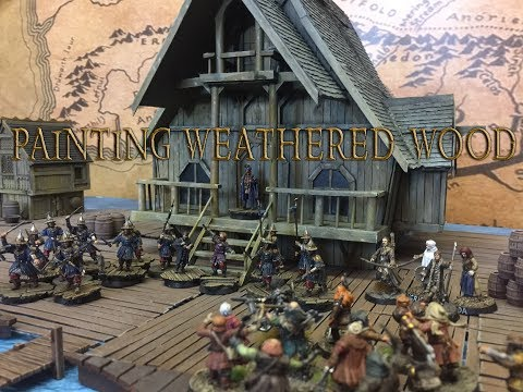Tutorial - How to paint weathered wood