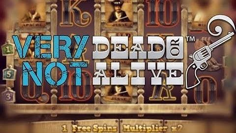 £7 Spins Tilting on DEAD or ALIVE! (Online Casino Slots Bonus)